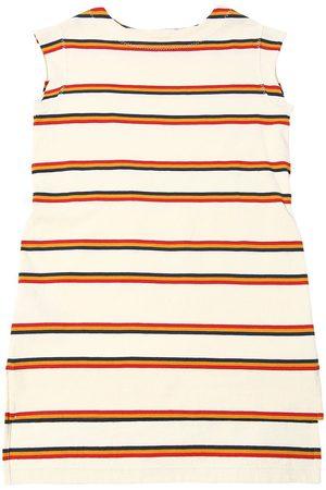 Marni Kleid Aus Baumwolle Mit Streifen