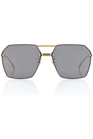 Bottega Veneta Eckige Sonnenbrille