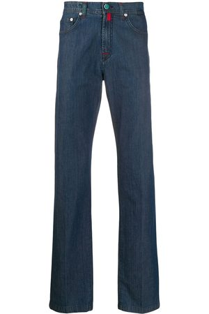 Kiton Mid rise straight-fit jeans