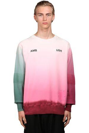 AMBUSH Herren Sweatshirts - Logo Print Cotton Jersey Sweatshirt