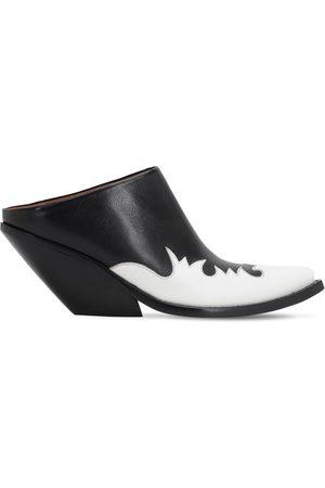 Vetements Damen Clogs & Pantoletten - 70mm Kick-ass Leather Mules