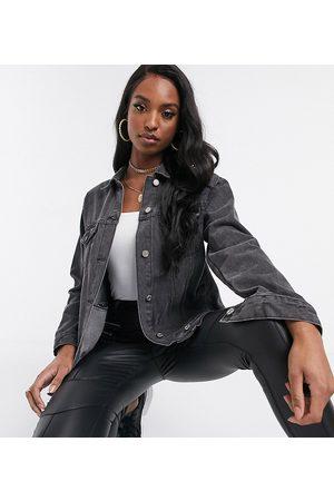 Missguided Oversized denim jacket in
