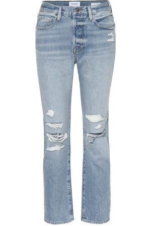 Frame High-Rise Jeans