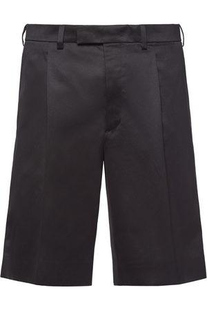 Prada Pleated details chino shorts