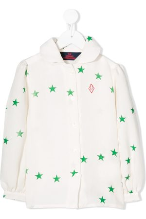 The Animals Observatory Star-print blouse