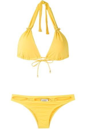 AMIR SLAMA Adjustable triangle bikini set