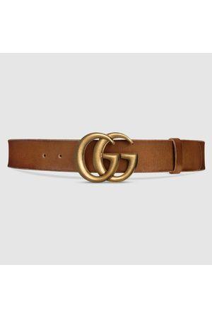 Gucci Damen Gürtel - Ledergürtel mit GG Schnalle