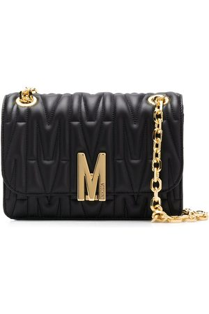 Moschino Quilted M motif crossbody bag
