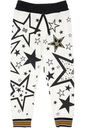 Dolce & Gabbana Sweatshirt Aus Baumwolle Mit Sterndruck