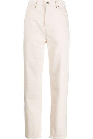 Jil Sander Damen Straight - High-rise straight-leg jeans