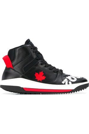 Dsquared2 Herren Tops & Shirts - Maple Leaf hi-top sneakers