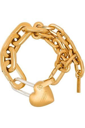 AMBUSH Heart padlock bracelet
