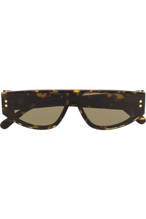 Stella McCartney Tortoiseshell square-frame sunglasses