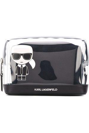Karl Lagerfeld K/Ikonic logo pouch bag