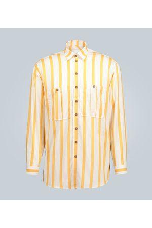 King and Tuckfield Oversize-Hemd mit Streifen