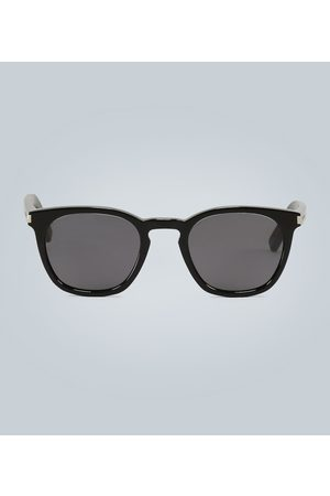 Saint Laurent Transparente Sonnenbrille mit Acetat