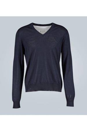 Maison Margiela Pullover mit Hemd-Rückenteil