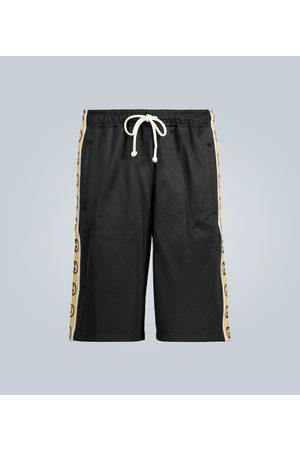 Gucci Shorts mit GG-Besatz