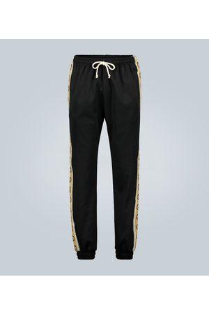 Gucci Trackpants mit Logo-Borten