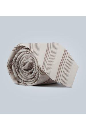 EDITIONS M.R Krawatte mit Diagonalstreifen