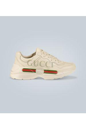 Gucci Bedruckte Sneakers Rhyton