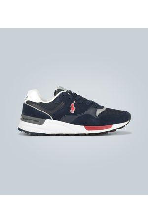 Polo Ralph Lauren Sneakers aus Leder und Veloursleder