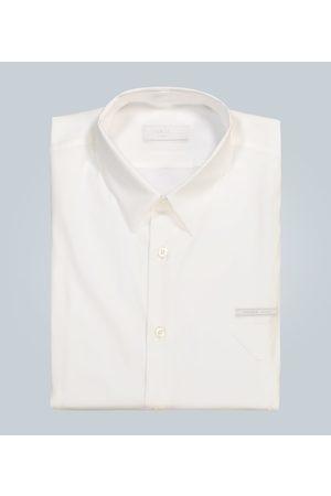 Prada Langarmhemd mit Logo