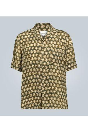 Nanushka Hemd mit Batik-Print