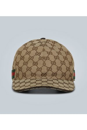 Gucci Logo-Baseballcap aus Canvas