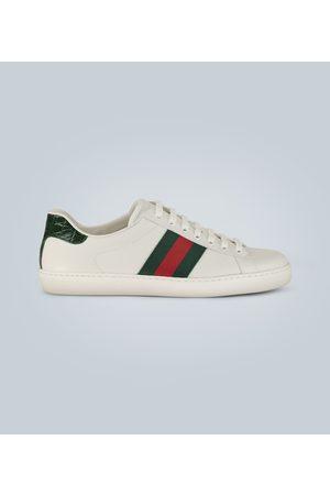 Gucci Ace Leder-Sneakers