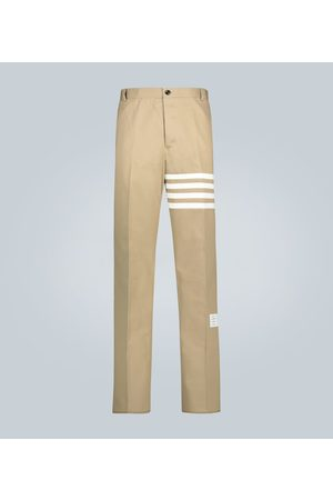 Thom Browne Chinohose 4-Bar aus Baumwoll-Twill
