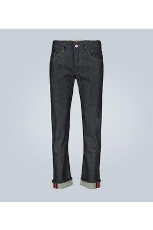 Gucci Jeans mit Webstreifen