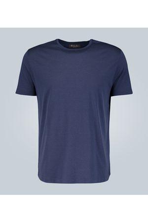Loro Piana T-Shirt aus Baumwolle und Seide