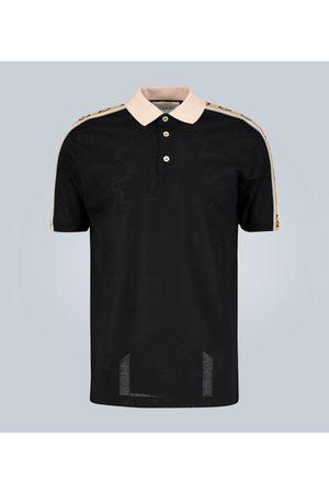 Gucci Poloshirt mit GG-Streifen