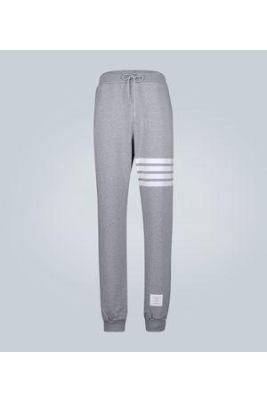 Thom Browne Herren Jogginghosen - Sweatpants 4 Bar aus Baumwolle
