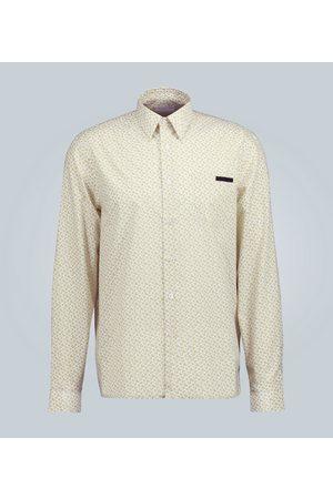 Prada Hemd aus Baumwollpopeline