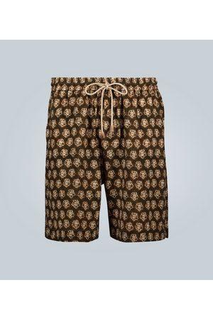 Nanushka Shorts mit Batik-Print