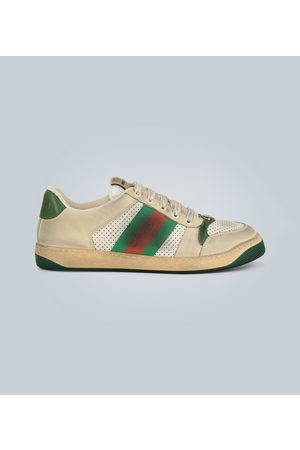 Gucci Screener Leder-Sneakers