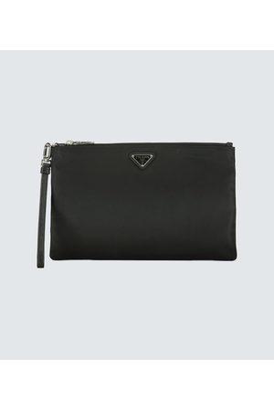 Prada Herren Koffer - Reisetasche aus Nylon mit Logo