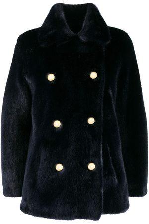 La Seine & Moi Brigitte faux-fur coat