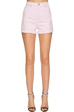 ALEXANDRE VAUTHIER Shorts Aus Stretch-denim