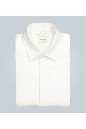 Bottega Veneta Herren Business - Gestepptes Hemd aus Baumwolle