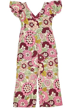 DODO BAR OR Flower Print Viscose Jumpsuit