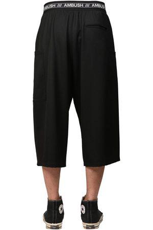 AMBUSH Logo Band Cool Wool Shorts