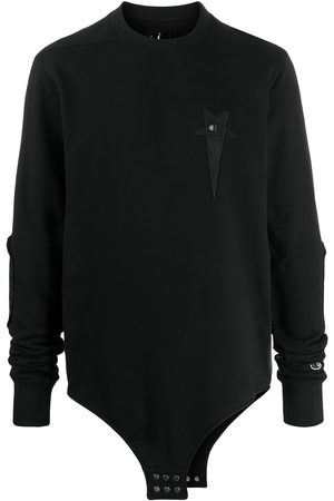 Rick Owens X Champion logo-embroidered sweatshirt
