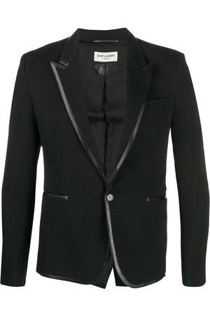 Saint Laurent Contrast trim blazer