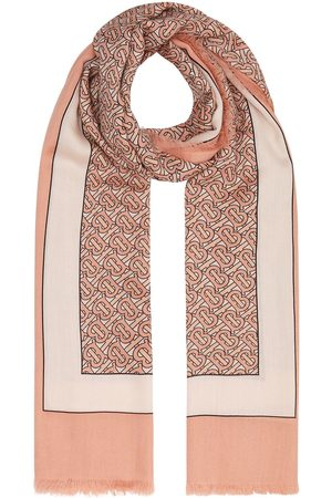 Burberry Monogram pattern scarf