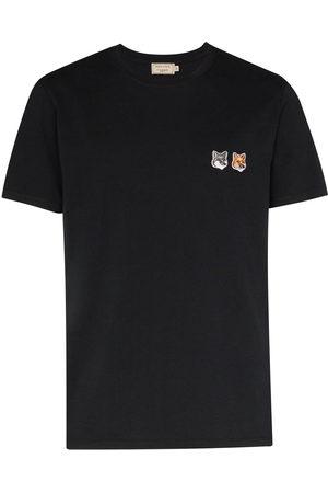 Maison Kitsuné Appliqued cotton T-shirt