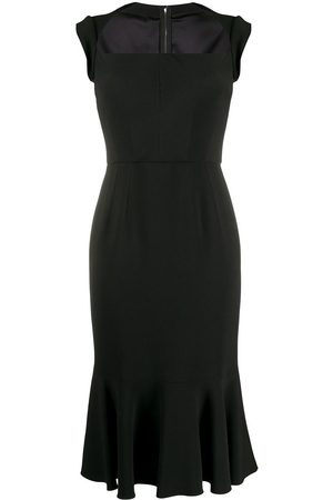 Dolce & Gabbana Square-neck dress