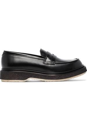 ADIEU PARIS Leather loafers